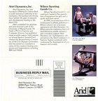 If the next three pages don't convince you that the Ariel Computerized Exercise System is far superior to Cybex and Kin Com, I want to know why.