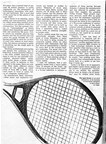 Biomechanical analysis of tennis rackets