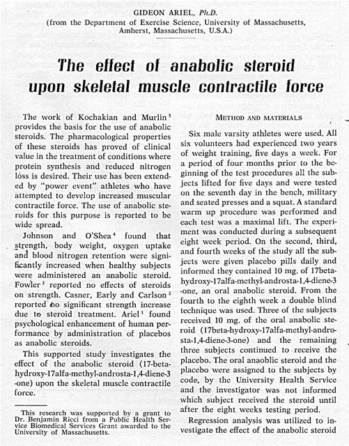 an analysis of the use of anabolic steroids in modern sports This paper seeks to give an in-depth analysis of the use of steroids in sports by various modern tests anabolic steroids and pressure to steroids use etc.