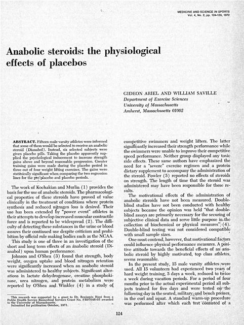 anabolic steroids athletes essays Free essay: sports and the spirit of competition have been valued by the human race for centuries today, sports are enjoyed globally by millions of people.