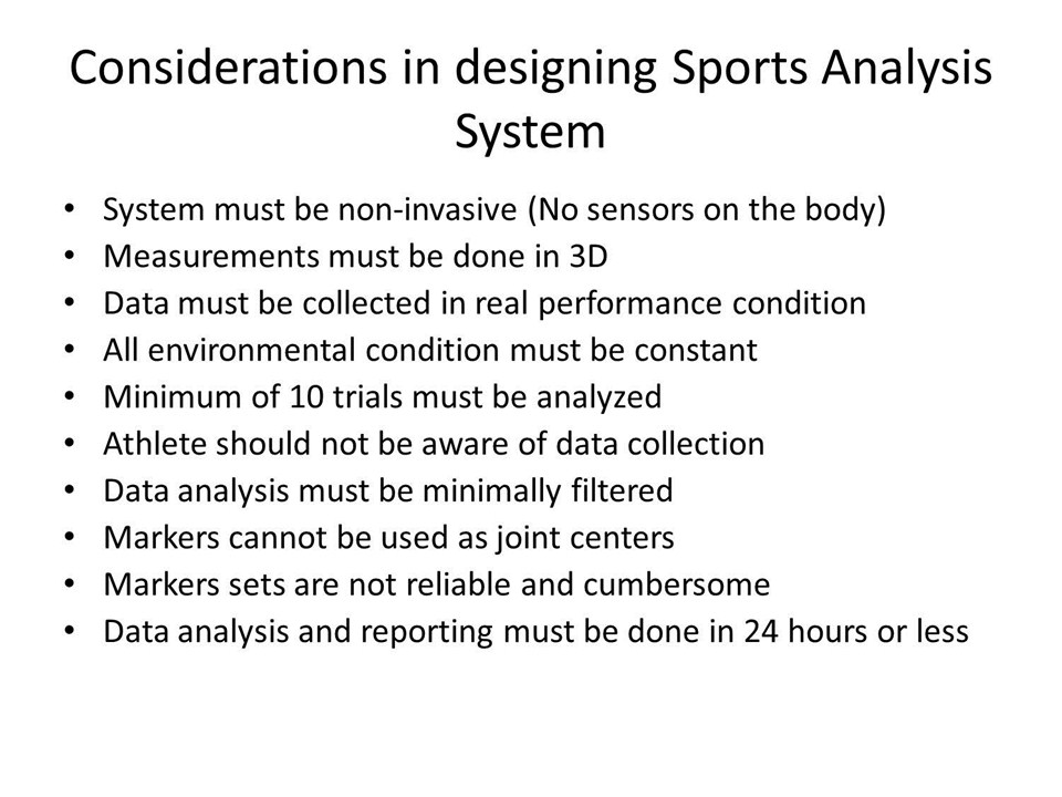 data collection and analysis of sports games Data collection happens before analysis and the advantage of using records from your organization is the ease of data collection the data already exists.