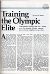From ancient Greece to the Iron Curtain on to Los Angeles, Olympic training has evolved as a high-powered  science
