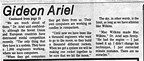 Dr. Gideon Ariel is not a miracle worker and that is that.